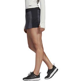 adidas TERREX Agravic Spodenki do biegania Kobiety szary/czarny